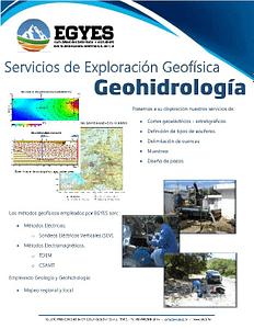 FOLLETO EGYES GEOHIDROLOGIA pdf image